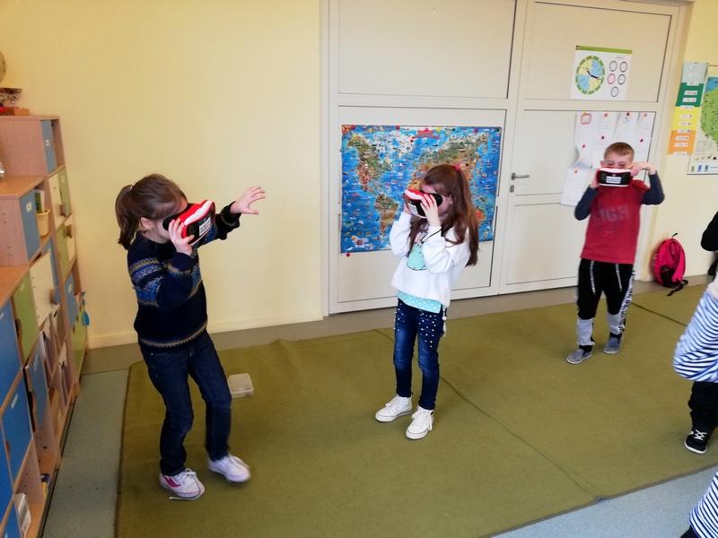 Wirtualne lekcje VR w Szkole wirtualne podróże